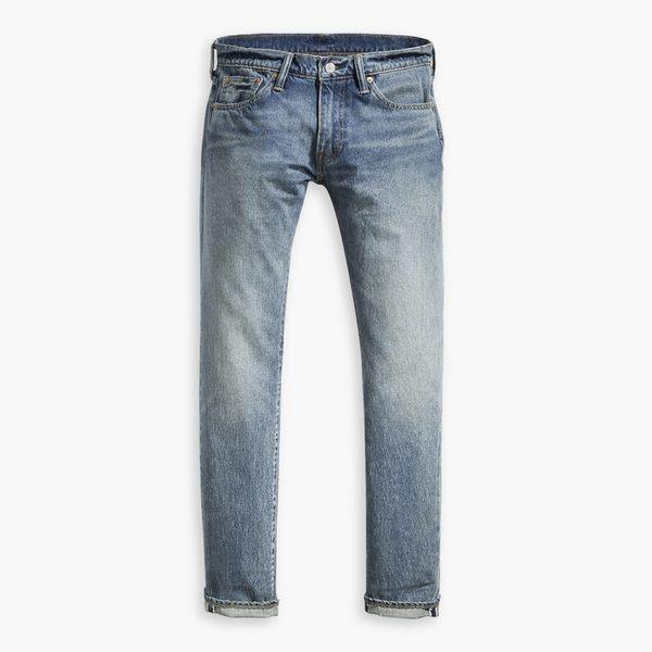 [第2件1折]Levis 511 低腰修身窄管牛仔長褲 / 赤耳 / 直向彈力延展/ 淺藍刷白