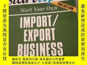 二手書博民逛書店Startup罕見Start Your Own Import Export Business: Entrepren