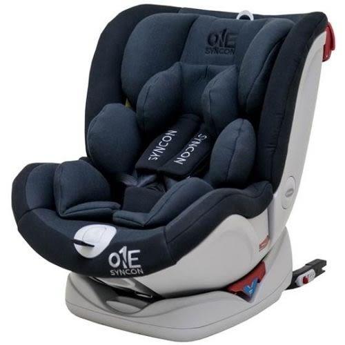☆愛兒麗☆欣康 ONE(0-12歲)ISOFIX汽車安全座椅-灰黑FB00556