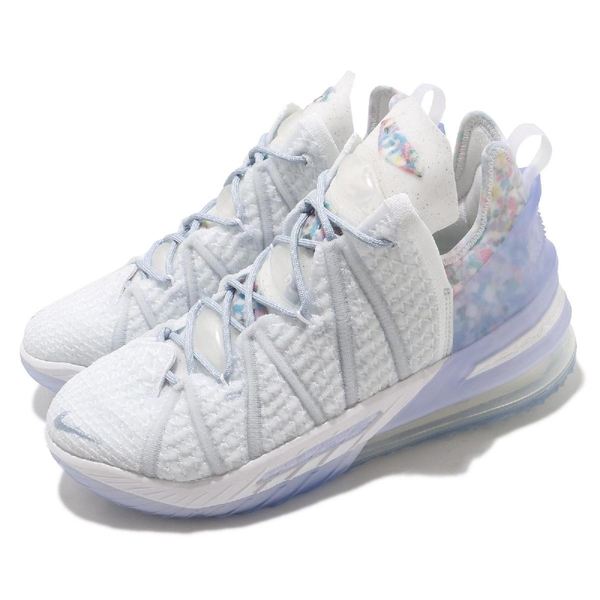 Nike Lebron XVIII EP 18 Play for the Future 明星賽 白 藍 詹姆斯 男鞋 氣墊 LBJ 【ACS】 CW3155-400