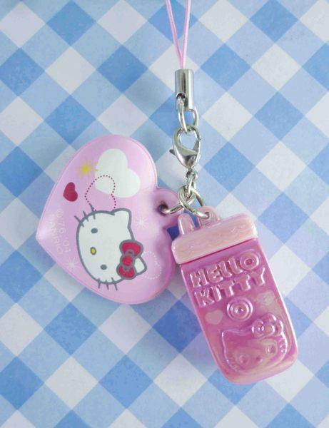 【震撼精品百貨】Hello Kitty 凱蒂貓~手機吊飾-粉手機