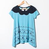 【Dailo】小精靈印花拼接上衣-2色
