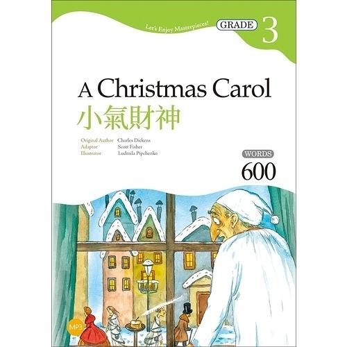 小氣財神(A Christmas Carol)(Grade 3經典文學讀本)(2