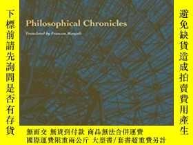 二手書博民逛書店Philosophical罕見Chronicles (perspectives In Continental Ph