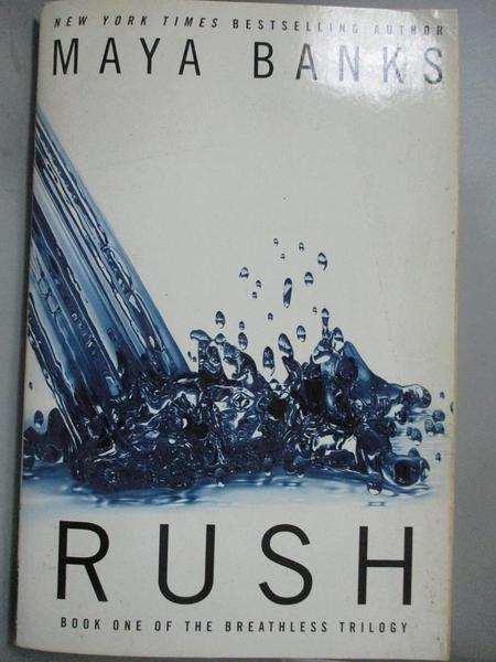 【書寶二手書T8/原文小說_CQH】Rush_Banks, Maya