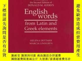 二手書博民逛書店Workbook罕見To Accompany The Second Edition Of Donald M. Ay