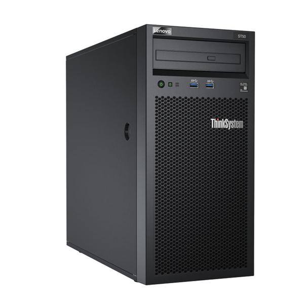 【現貨】LENOVO伺服器 ST50 E-2104G/8G/512SSD+1Tx2/2019 STD 商用伺服器