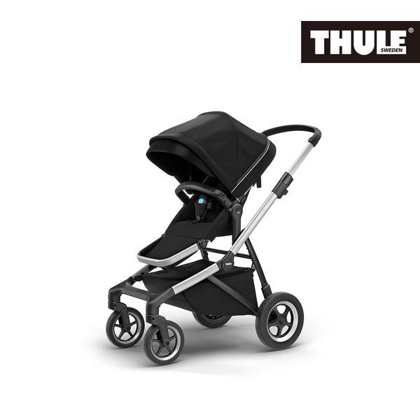 THULE-SLEEK 四輪嬰兒手推車-黑色