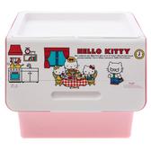 Kitty直取式整理箱 40L UKT-00099 凱蒂貓 三麗鷗 聯府