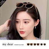 MD韓-膠框墨鏡-3色【09190014】