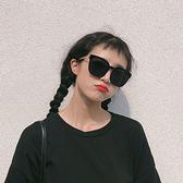 新款墨鏡女韓版潮人網紅個性圓臉街拍大框復古文藝太陽鏡 【新年快樂】