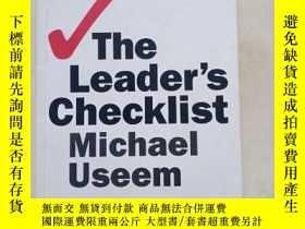 二手書博民逛書店The罕見Leaders Checklist, Expanded Edition: 15 Mission-Crit