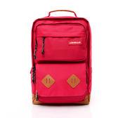 AIRWALK -【禾雅】韓系耀眼系列 - 最大可裝15吋筆電包/後背包 - 深紅色