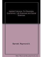 二手書博民逛書店《Applied Calculus: For Business,