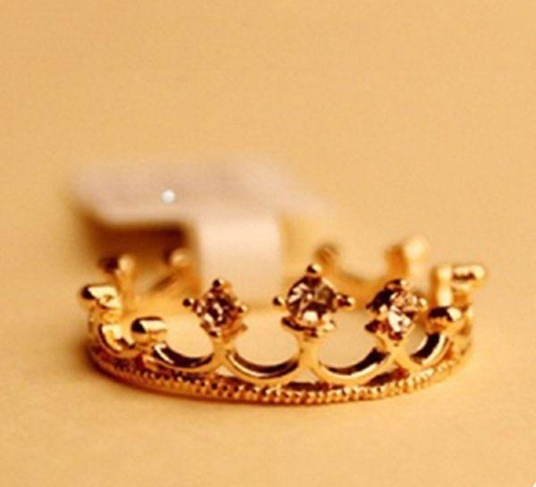 皇冠 戒指 環韓國 飾品