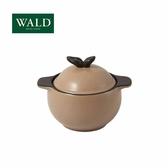 義大利WALD陶鍋系列-蘋果造型小鍋(卡其-有原裝彩盒)