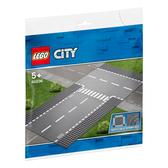 LEGO樂高 城市系列 60236 直線道和 T 形路口 積木 玩具
