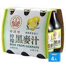 崇德發檸檬黑麥汁330ML*6*4【愛買】