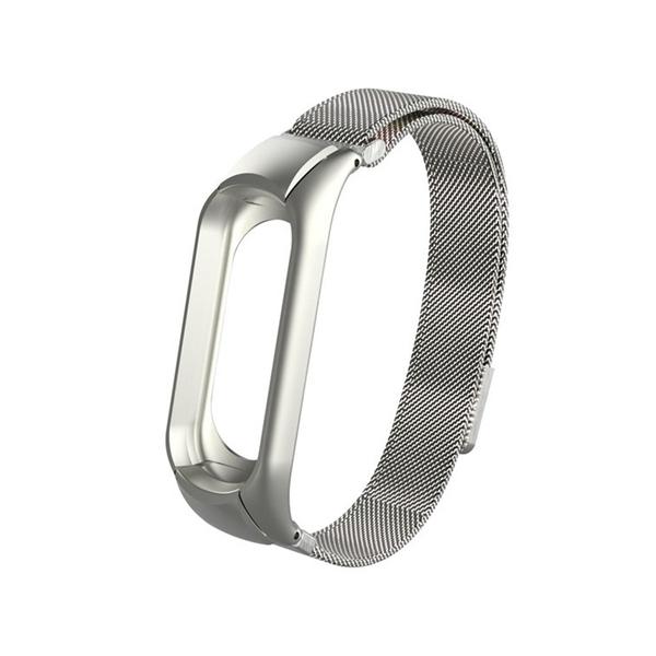米蘭尼斯 小米手環5 金屬錶帶 磁吸腕帶 不銹鋼錶帶 運動錶帶 腕帶 替換帶 快拆型 可調節長度