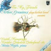 【停看聽音響唱片】【黑膠LP】最愛的小提琴安可曲集:第一集 / 葛羅米歐(小提琴)、哈吉杜(鋼琴)