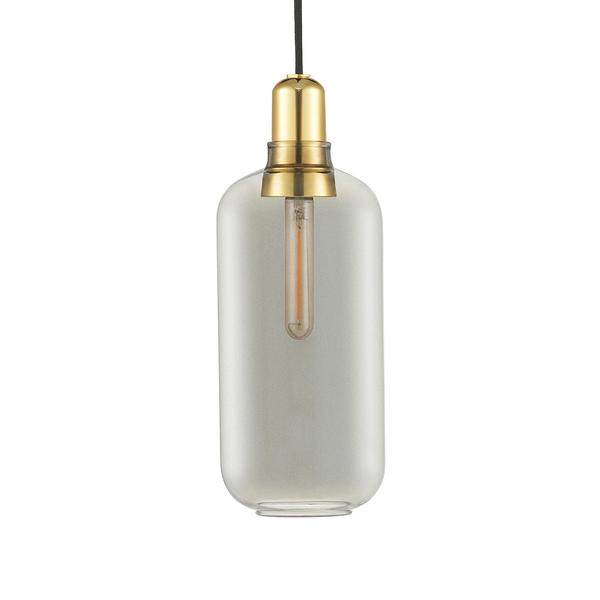 丹麥 Normann Copenhagen Amp Suspension Lamp Large Brass 真空管 玻璃 吊燈 大尺寸 - 黃銅版