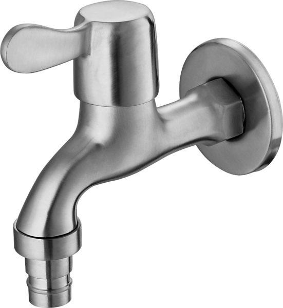 304不鏽鋼(砂光) 洗衣機專用長栓龍頭 水龍頭 單孔 冷水