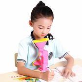 矯正器 兒童視力保護器小學生預 防近視坐姿矯正器糾正寫字姿勢儀架護眼架