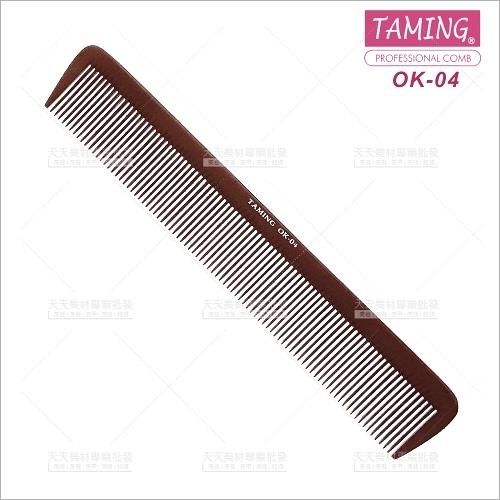 台灣TAMING | 電木寬剪髮梳(OK-04)單支(美髮梳子)[40340]