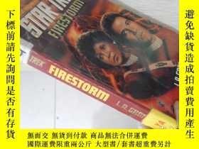 二手書博民逛書店Star罕見Trek Firestorm【36開 英文原版】(星