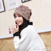 韓版時尚產婦月子帽 夏季薄款透氣 孕婦產後坐月子套頭包頭巾大碼 瑪麗蓮安