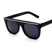 太陽眼鏡-偏光個性街頭流行抗UV女墨鏡4色71g71【巴黎精品】