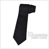 Burberry MANSTON.H 格紋編織絲綢領帶 (黑)