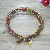 花環材料 diy花枝小漿果 手環頭環製作籐條65cm一條 仿真花環配件─預購CH5739