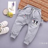 0到1周2至3歲寶貝4秋天小孩寶寶6男童洋氣開檔褲子7八十個月9