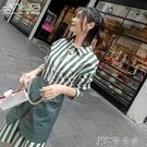 春裝女裝小個子穿搭法式復古裙兩件套山本超仙襯衫連身裙 【全館免運】