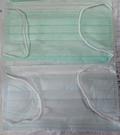 現貨-台製3層不織布口罩(藍、綠)50片 買就送1片橘色 防塵材質優騎車出外居家打掃廚房出國