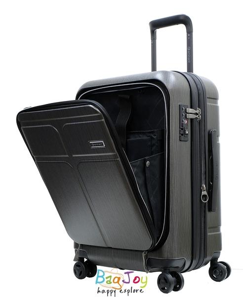 萬國通路 雅仕 EMINENT KJ10 CHANCE 查恩斯 商務 前開 可加大 PC材質 行李箱 旅行箱 登機箱 20吋