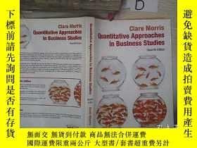 二手書博民逛書店Quantitative罕見Approaches In Business Studies 商業研究中的定量方法 B