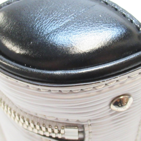 LOUIS VUITTON 路易威登 白色EPI水波紋手提斜背兩用包 Valisette BB M55470 BRAND OFF