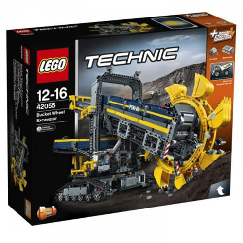 LEGO 樂高 Technic Bucket Wheel Excavator 42055 Construction Toy