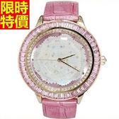 鑽錶-高檔新款大方女手錶4色5j17[巴黎精品]