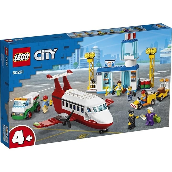 LEGO 樂高  60261 Central Airport