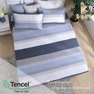 【BEST寢飾】天絲床包三件組 特大6x7尺 海風吹過 100%頂級天絲 萊賽爾 附正天絲吊牌 床單