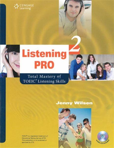 (二手書)Listening Pro 2: Total Mastery of TOEIC Listening Skills(with MP..