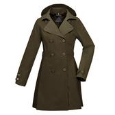 【ATUNAS 歐都納】GORE-TEX 兩件式防風防水+羽絨保暖外套★買就贈保暖圍巾一條★(A-G1720W橄綠)時尚