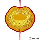 Jove Gold 漾金飾 謝神明金牌-黃金伍錢