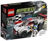LEGO 樂高 Speed Champions 奧迪 R8 LMS Ultra 75873