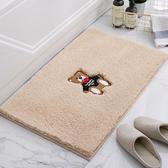 【免運】衛生間地墊加厚門墊進門門口門廳家用腳墊衛浴吸水地毯浴室防滑墊