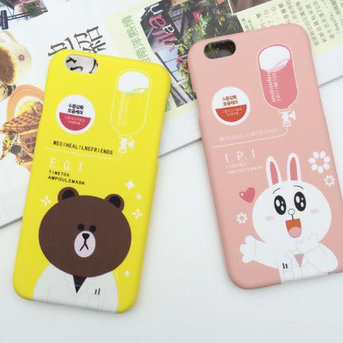 手機殼iphone6/6S 4.7/Plus 卡通保護套 磨砂硬殼 保護殼