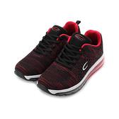 C&K 針織全氣墊跑鞋 紅 男鞋 鞋全家福